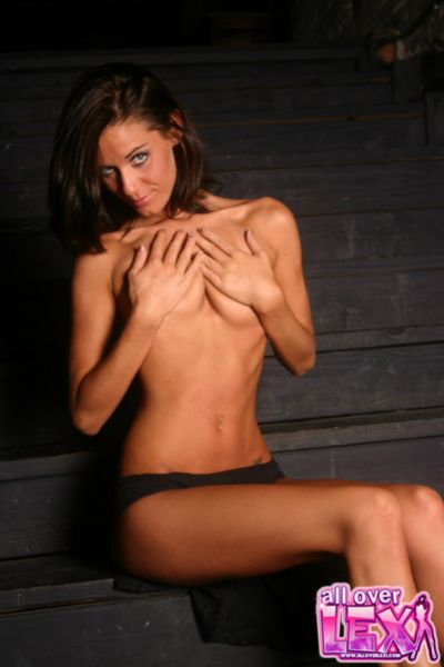 topless solo girl